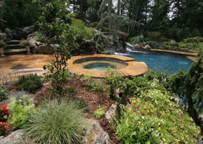 Pugliese Pools Natural Look Custom Pool
