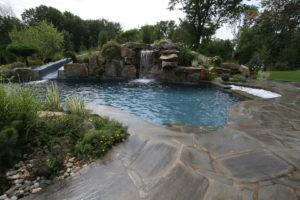 Pugliese Pools Natural Look Custom Pool